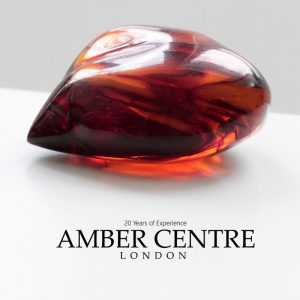 Mexican 25 Million Years Old Amber Stone Antique Unique OT4792 RRP£995!!!
