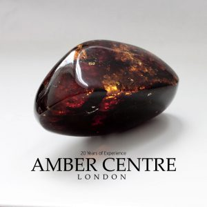 Mexican 25 Million Years Old Amber Stone Antique Unique OT4793 RRP£1250!!!