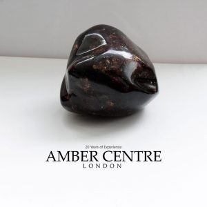 Mexican 25 Million Years Old Amber Stone Antique Unique OT4780 RRP£2750!!!