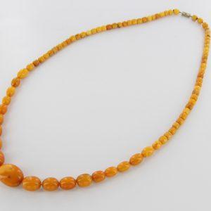 Antique German Baltic Amber Unique Butterscotch Beaded Necklace A0125 RRP£2950!!