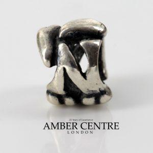 Genuine Trollbeads Silver 925S LAA Charm- LETTER N- 11144N RRP £35!!!