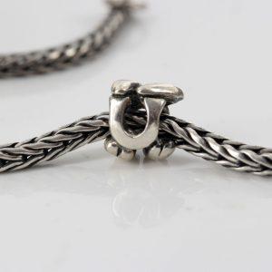 Genuine Trollbeads Silver 925S Charm Letter Bead U 11144U RRP£35!!!