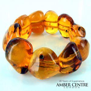 German Amber Butterscotch Healing Antique Genuine Bracelet W142- RRP £1600!!!