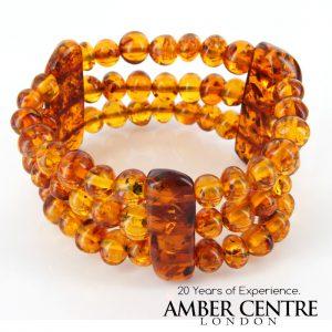 German Amber Handmade Unique Healing Antique Genuine Bracelet W147- RRP £425!!