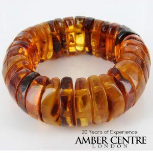 German Amber Handmade Unique Healing Antique Genuine Bracelet W145- RRP £1595!!!
