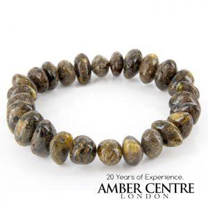 German Baltic Amber Handmade Unique Healing Genuine Bracelet W153- RRP £75!!!