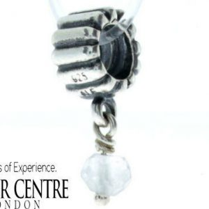 Pandora 925 ALE Rock Quartz Charm Bead Birthstone Dangle - 790166BK RRP£45!!!