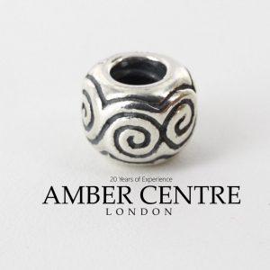 Genuine Special Retired Pandora Silver Charm ALE 925 - Swirls - 790228 RRP£35!!!