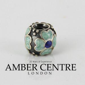 Pandora Genuine 925 Silver and Blue Enamel Daisy Charm 790433EB RRP£50!!!