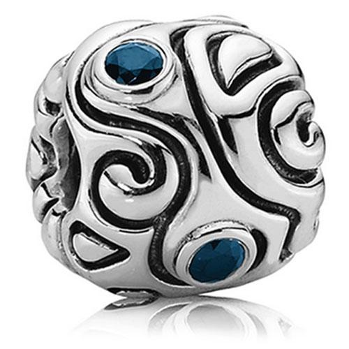 Genuine Pandora Silver Indigo Zirconia Day Dream Charm - 790869SSL RRP£115!!!