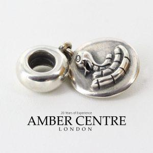 Genuine Pandora Chinese Zodiac Snake Dangle Charm - 790886 RRP£45!!!