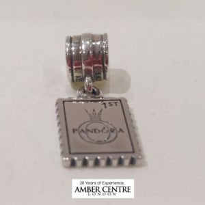 Pandora Sterling Silver S925 ALE- GREAT BRITAIN PENDANT CHARM-791273 RRP£45!!!