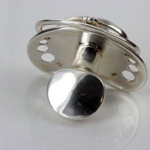 German Mother's Treasure Box/Dummy 925 Silver Baltic Amber CAR0109 RRP£395!!!