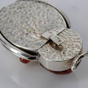 German Handmade Beetle Trinket Box Baltic Amber Elements CAR0119 RRP£595!!!