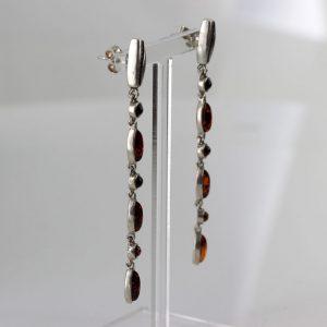 Italian Handmade German Baltic Amber Set 925 Sterling Silver- SET22 RRP£295!!