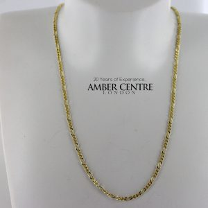 Italian Made Elegant Figaro Chain 9ct solid Gold 18 Inch /45 cm GCH009 RRP£250!!!