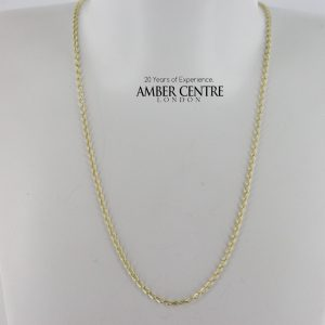 Italian Made Trace Chain 9ct Gold Classic Elegant 18 Inch /45 cm- GCH008 RRP £150!!!