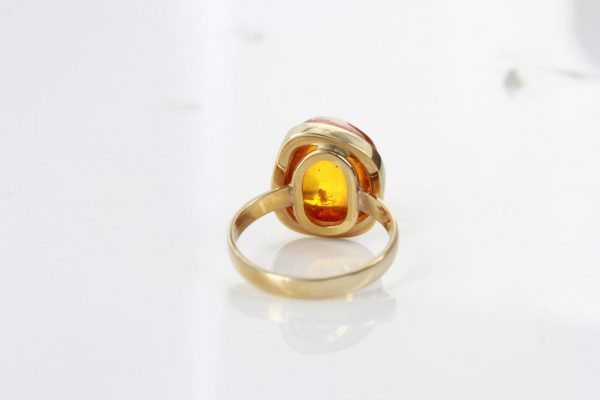 Amber with Insect Spider Rare German Baltic Amber Handmade 9ct solid gold GRR012 RRP£800!!!