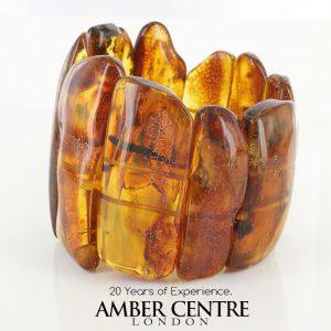 German Baltic Amber Healing Handmade Bracelet Genuine Amber W0136 RRP£1750!!!