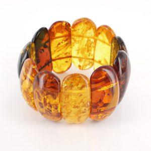 German Baltic Amber Healing Handmade Bracelet Genuine Amber W133 RRP£1125!!!