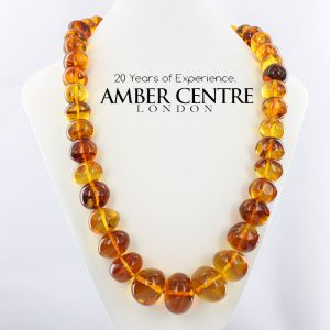 German Baltic Amber Genuine Beads all with insects 120 grams- A0023 - RRP£3500