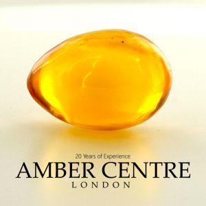 Butterscotch German Genuine Antique Amber Baltic Amber Egg - OT6448 RRP£1500!!!