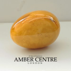 Butterscotch German Genuine Antique Amber Baltic Amber Egg - OT6457 RRP£3500!!!
