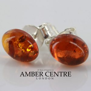 Italian Style German Baltic Classic Amber Studs ST0123 RRP£13!!! SPECIAL OFFER!!!