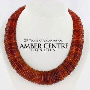 German Baltic Honey Amber Handmade Unique Elegant Necklace- A0500 RRP£949!!