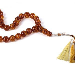 Genuine German Handmade Unique Baltic Amber Worry Beads - AW0029 RRP£1350!!!