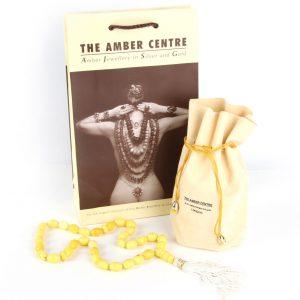 Genuine German Amber Worry Beads - Aw0035 Very Rare