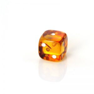German Baltic Amber Dice Exquisitely Handmade Carved Unique CAR0121 RRP£30!!!