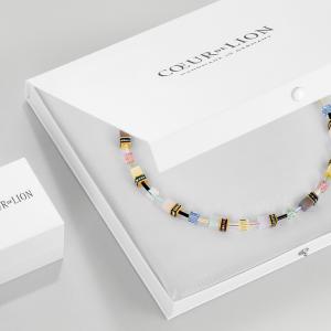 German Coeur de Lion Handmade Glass & Haematite Cubes Bracelet - 4689/0711 30 RRP£90!!!