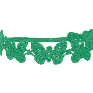 Cruciani Turquoise Green Butterfly Bracelet