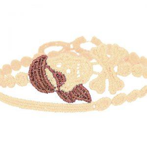 Cruciani Ivory & Rust Pirate Bracelet
