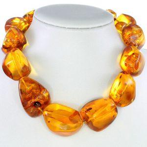 Genuine German Handmade Baltic Amber Beads 198 Grams A0021 RRP 8900!!!
