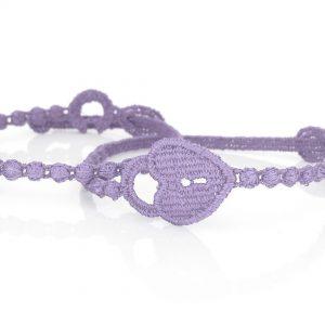 Cruciani Lilac Love Promise Bracelet