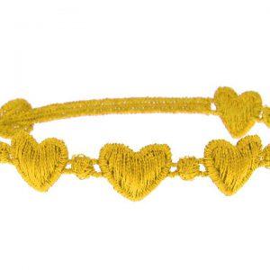 Cruciani Gold Hearts Bracelet