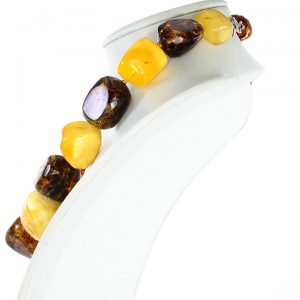 Genuine Handmade Antique German Baltic Amber Multicolored Beads 249grams A0110 RRP£10000!!!