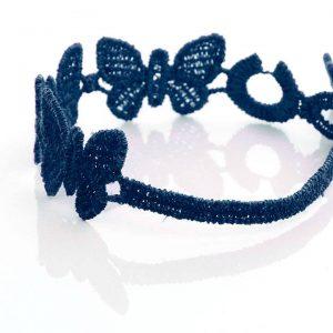 Navy Blue Cruciani Kids Butterfly Bracelet