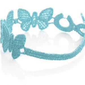 Baby Blue Cruciani Kids Butterfly Bracelet