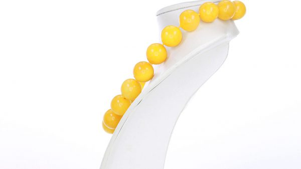 German Antique Butterscotch Handmade Baltic Amber Bead Necklace A0233 RRP£14999!!!
