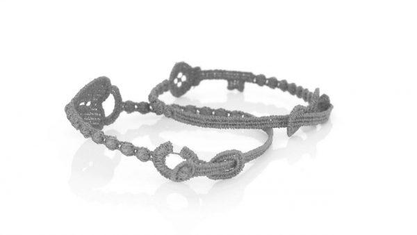 Cruciani Silver Love Promise Bracelet