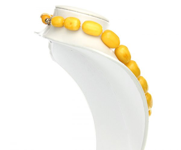 German Antique Very Rare Baltic Amber Bead Necklace Large - A0194 RRP£35000!!!