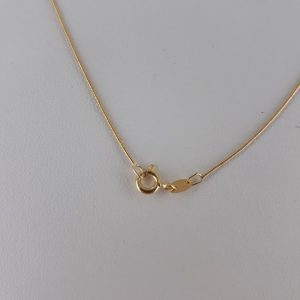 Classic Italian Made Snake Chain 9ct Gold 15 Inch/37.5 cm 0.7mm - GCH006 RRP£165!!