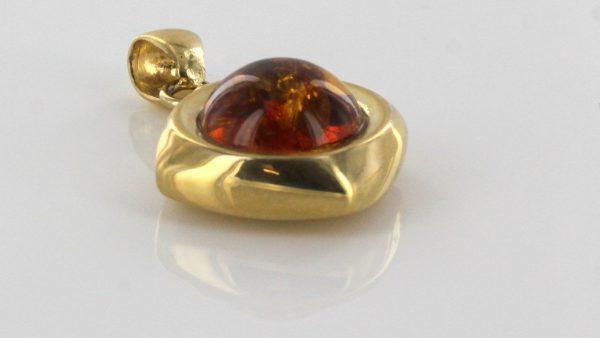 Italian Hand Made Elegant German Baltic Amber Pendant in 14ct Gold - GP0900 RRP£475!!!
