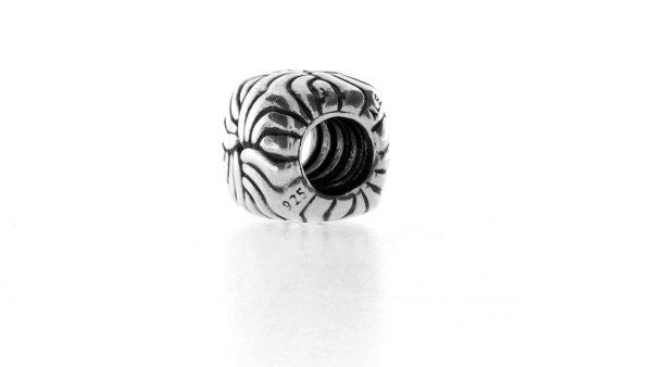 Genuine Pandora Silver 925 ALE Charm -SQUARE SWIRL- 790492 RRP£25!!!