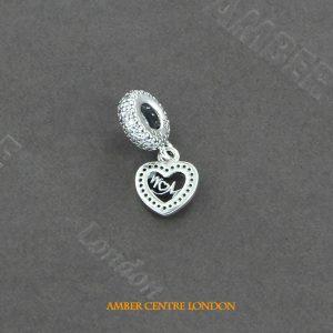 GENUINE PANDORA CHARM S925 ALE-Centre Of My Heart -791521CZ RRP£55!!!