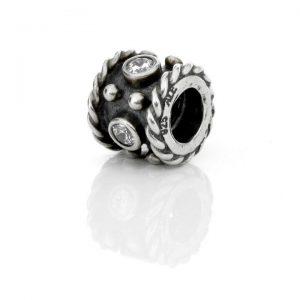 Genuine Pandora 925 ALE Unique Silver Charm - Oxy Crown - 790221CZ RRP£50!!!