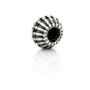 Genuine PANDORA Silver and Black Zirconia Showstopper Charm 790545CZK RRP£125!!!